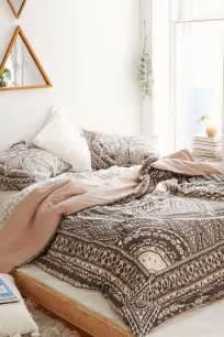 Magical Thinking Boho Stripe Duvet Cover 50 Schlafzimmer Ideen Im Boho Stil Freshouse