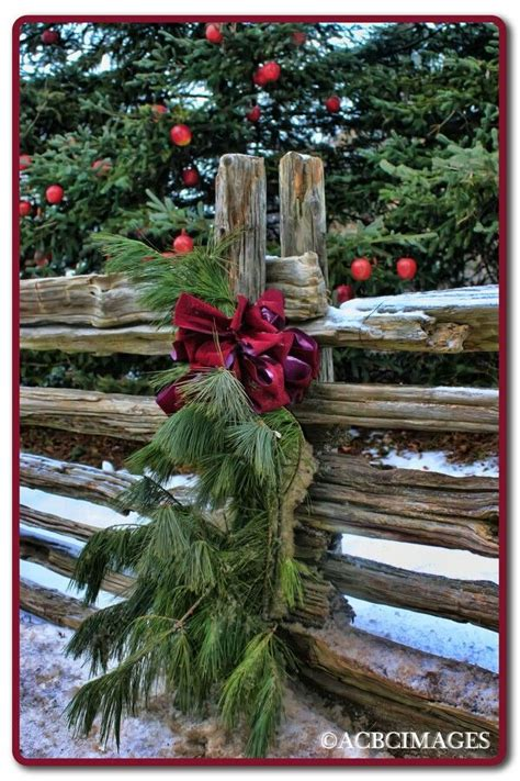 christmas staked fences 30 best cedar rail fences images on fence ideas split rail fence and fencing