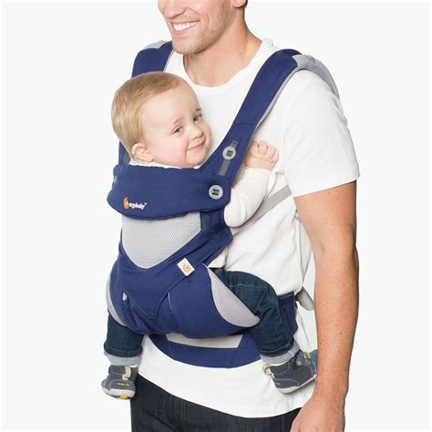Ergo Baby Carrier 360 La Giraffe ergobaby 360 cool air blue 16