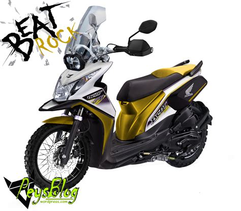 Windshield Motor Jogja motor rakitan modifikasi honda beat touring