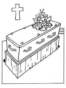 Funeral Coloring Pages  Coloringpages1001com sketch template