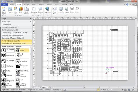 visio cad software visio cad best free home design idea inspiration