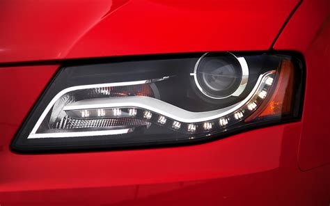 audi a4 headlights what is better halogen xenon or led headlights