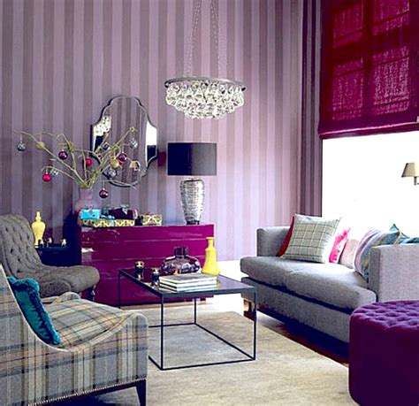 shades of purple for bedrooms living room in shades of purple decoist