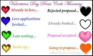 valentines day colors valentines day dress code meaning feb 14th dress colours