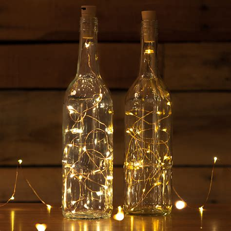 bottle led lights wine bottle led lights cork shaped battery