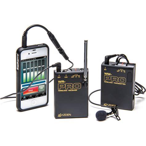 Azden Wlx Pro Vhf Wireless Lavalier Microphone System Azden Wlx Pro I Vhf Wireless Lavalier Microphone Wlx Pro
