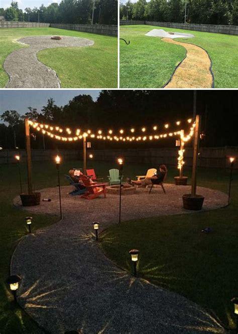 diy backyard  patio lighting projects amazing diy
