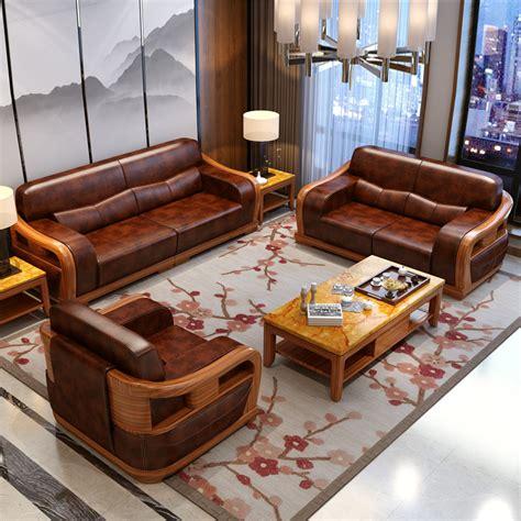 Living Room Sofa Bed Sets by Wood Furniture Living Room Set China Free Shipping Sofa