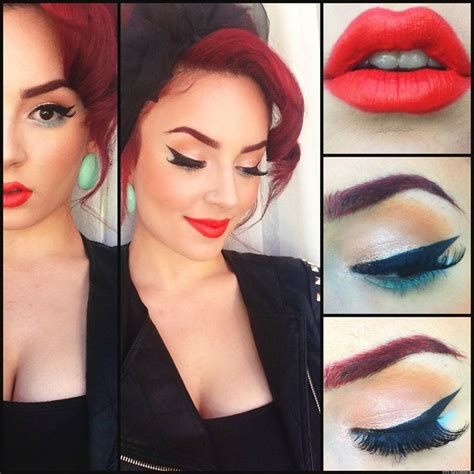 tutorial eyeliner anni 50 181 best images about pin up girl outfit ideas on
