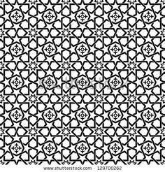 islamic pattern cdr download six seamless vector islamic and arabic geometric