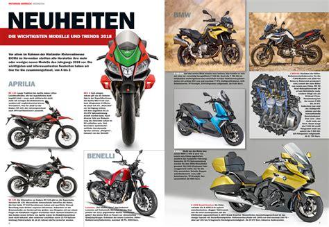 Motorrad Magazin Mo Mediadaten by Motorrad Jahrbuch 2018 Motorrad Magazin Mo