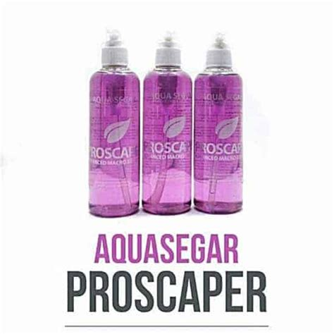 Pupuk Cair Aquascape Aqua Segar jual pupuk cair aquascape proscaper 250ml aqua segar
