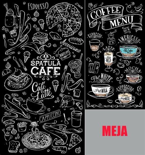 gambar dinding cafe hitam putih akana wallpaper