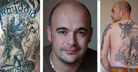 gallery tattoo prince of wales look patriotic welshman has giant tattoo of owain glyndwr