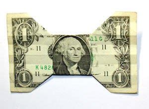 Dollar Bill Origami Bow Tie - 1000 ideas about origami on origami