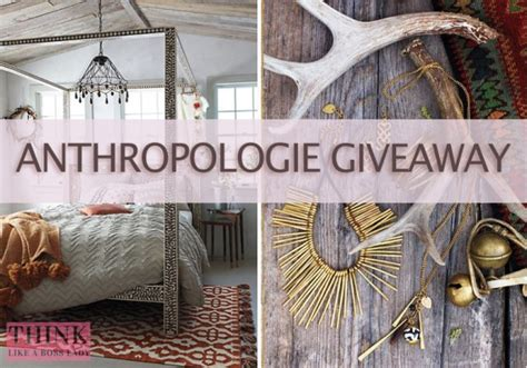 Discount Anthropologie Gift Card - 300 anthropologie giveaway think like a boss lady