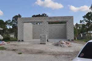 concrete block garage with walls the journal board design for house plans designs