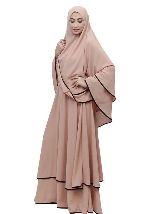 Busana Muslim Terbaru model baju gamis batik modern gamis muslim terbaru design bild