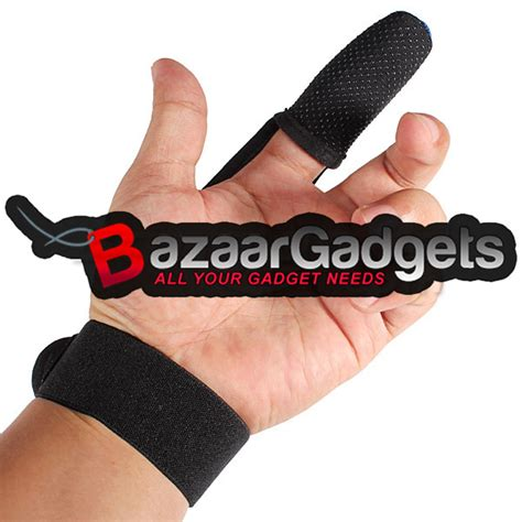 buy fishing one finger gloves finger protector glove