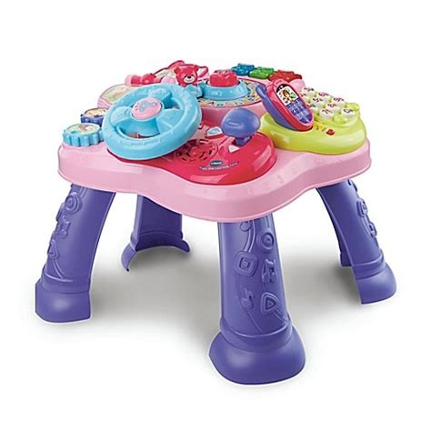 vtech super star learning table vtech 174 the magic star learning table buybuy baby