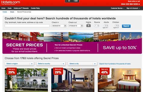 secret price secret prices hotels hotel scontati fino al 50