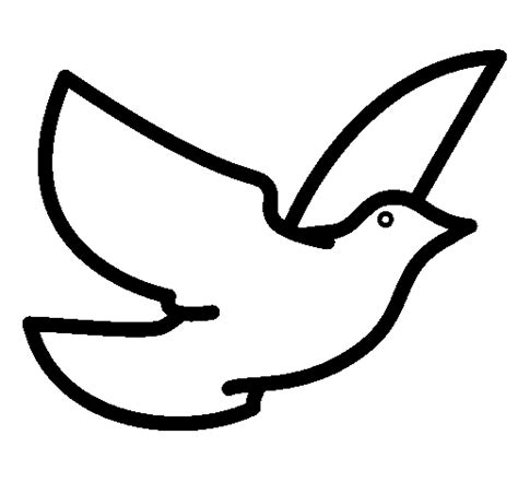 Dove Of Peace Coloring Page Peace Dove Coloring Page