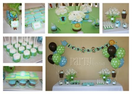 Safari Baby Shower Decorations For A Boy by Jungle Safari Baby Shower Cutestbabyshowers