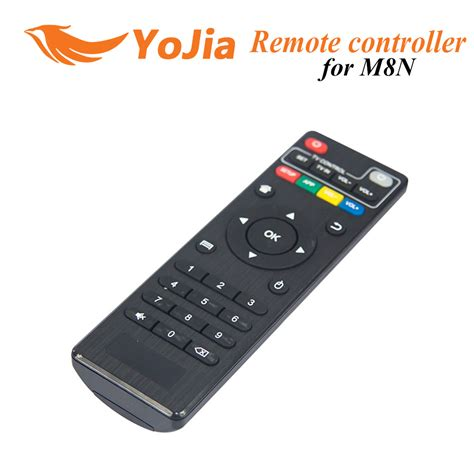 android remote 10pcs remote controller for m8n m8 m8s amologic s802 s812 android tv box replacement remote
