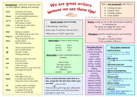 ks2 ideas for writing vcop pyramids writing tips mats by simon h teaching