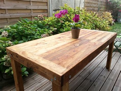 dining table made from pallets pallets made dining table pallet furniture plans