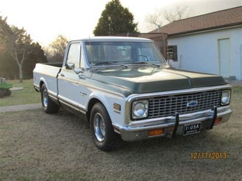 used chevy truck bed for sale 1972 chevrolet k 10 4x4 short bed pickup used cars for