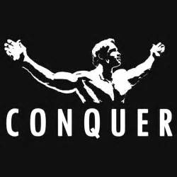 Baby Quote Wall Stickers quot arnold schwarzenegger conquer quot t shirts amp hoodies by