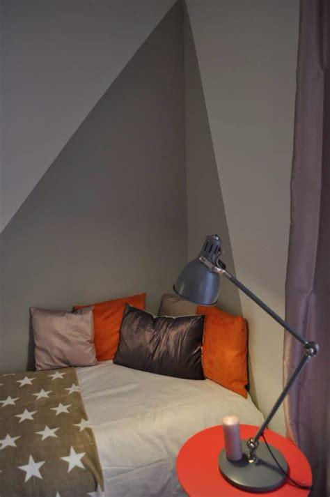 Mur Peinture Graphique by D 233 Co Peinture Angle De Mur Pour Plus De Profondeur