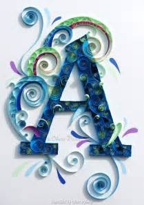 Modern Quilling Vorlagen Kostenlos 365 Best Images About Quilling Monogram Name Letter On Typography Quilling And