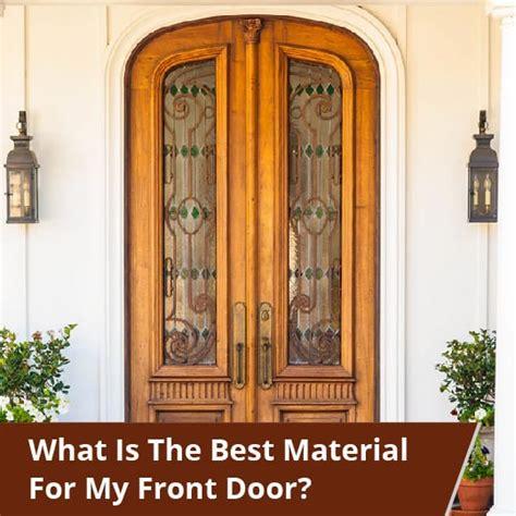 material   front door clera