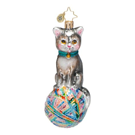 christopher radko ornaments 2014 radko cat christmas