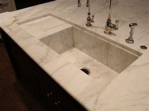 Marble Kitchen Sink Custom Counter Tops Marble And Granite