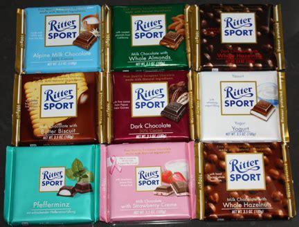 Cocolatte Isport ritter sport new and chocolate bars ftw gurus