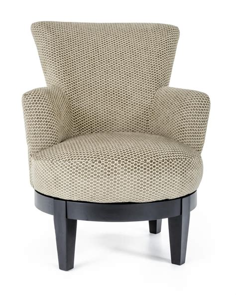 Best Home Furnishings Chairs Swivel Barrel 2968 Justine Best Swivel Chairs