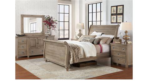 nelson grey queen sleigh bedroom set the furniture mart summer grove gray 5 pc queen sleigh bedroom traditional