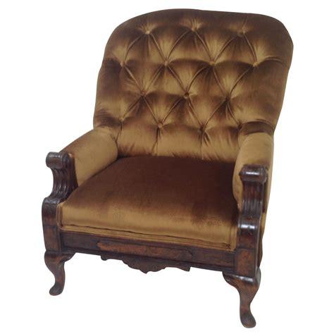 antique victorian parlor chair chairish