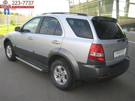 Kia Sorento 2005 Problems Used 2005 Kia Sorento Photos 2400cc Gasoline Manual