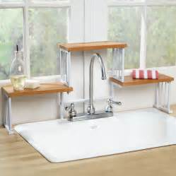 Kitchen Sink Organizer Shelf 2 Tier The Sink Shelf Kitchen Faucet Space Saver Storage Shelf Ebay