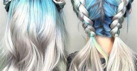 periwinkle hair style image top 15 colorful hairstyles when hairstyle meets color