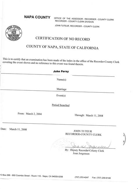 No Record Of Marriage Certificate Immigration Marriage Affidavit Letter Sle