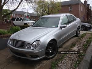 2005 mercedes e500 amg top of the line