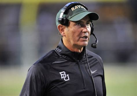 art briles tattoos briles on baylor i can t see myself anywhere else