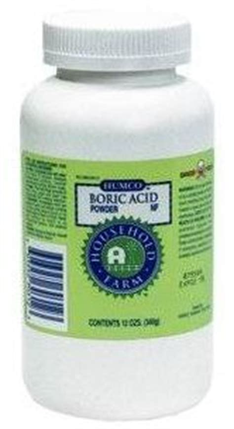 25 best ideas about boric acid powder on