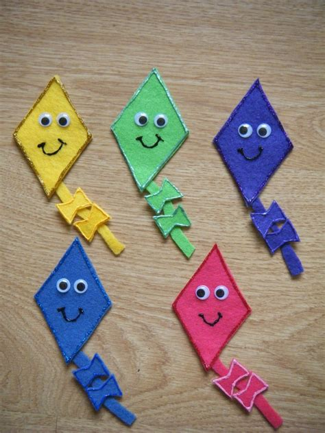 How To Make Paper Kites For Preschoolers - 20 best kite craft ideas images on books